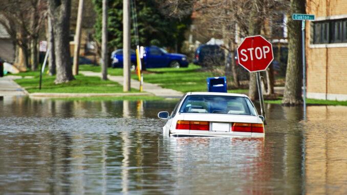 Gebiete in Deutschland sind besonders stark von Hochwasser betroffen